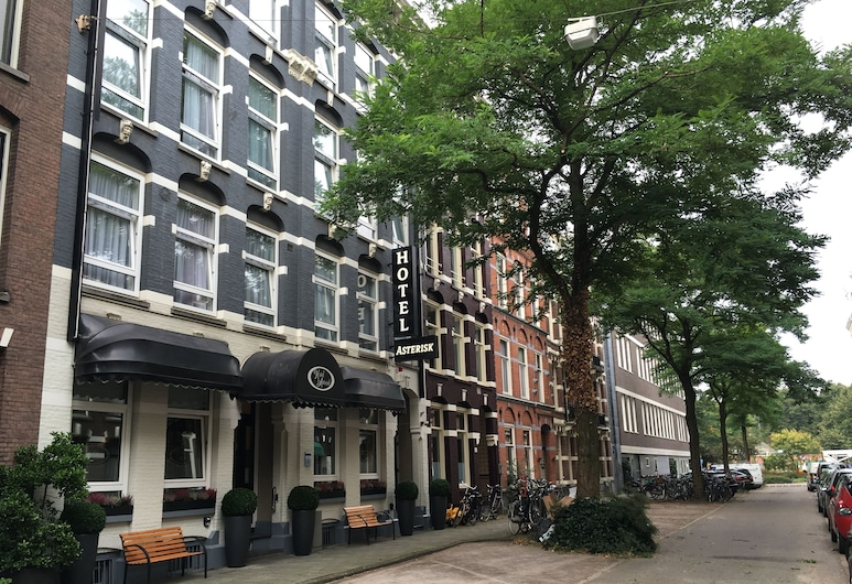 Hotel Asterisk, Amsterdam, Hotel Front