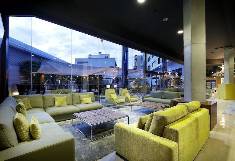 Hotel SB Icaria barcelona, Barcelona, Sittområde i lobbyn
