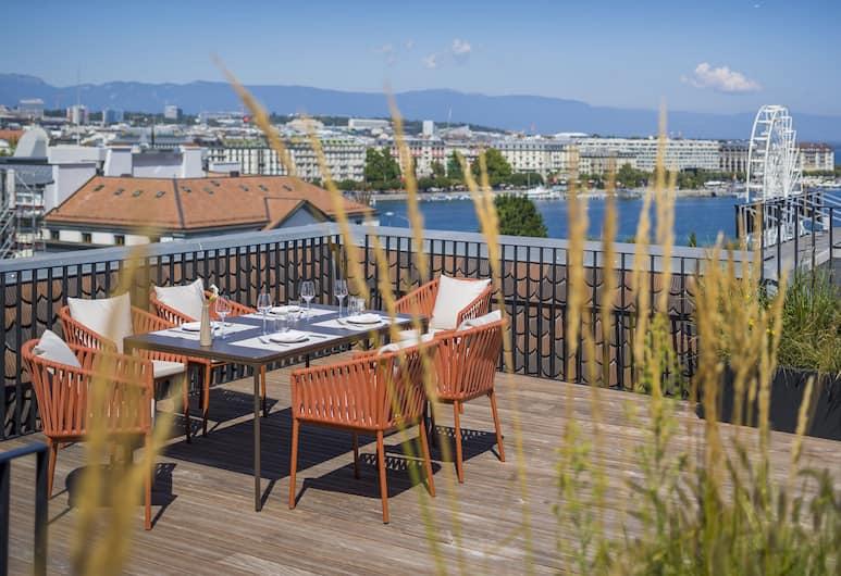 오텔 로즈말, 제네바, 아파트, 침실 2개, 객실 전망