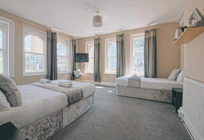The Mitre Hotel, Mančestra, Small Family Room, Viesu numurs