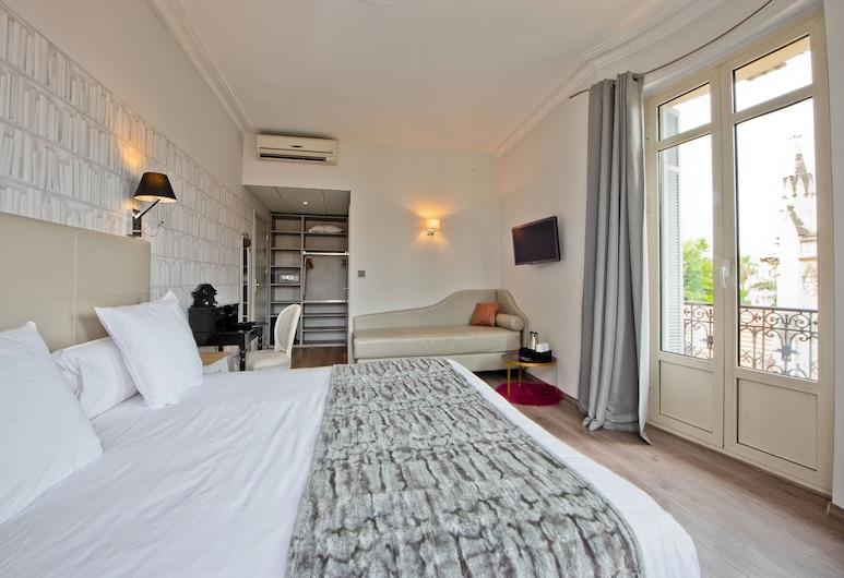 Hôtel La Villa Nice Victor Hugo, Nice, Standard enkelrum (Single), Gästrum