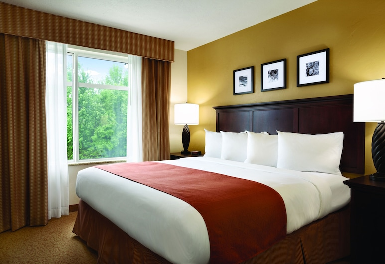 Country Inn & Suites by Radisson, Knoxville West, TN, Knoxville, King Room, Studio Suite, 1 King Bed, Non Smoking, Guest Room