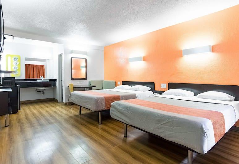 Motel 6 Long Beach International City, Long Beach, Habitación, 2 camas Queen size, para no fumadores, Habitación