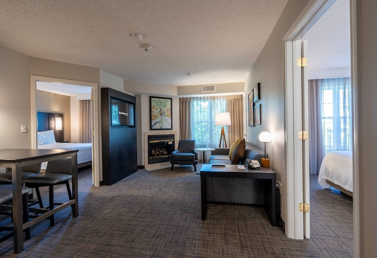 Residence Inn by Marriott Princeton at Carnegie Center, פרינסטון, חדר אורחים