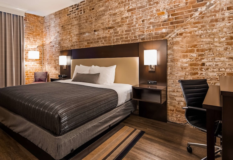 Best Western Plus St. Christopher Hotel, New Orleans, Standard Room, 1 Queen Bed, Non Smoking, Guest Room