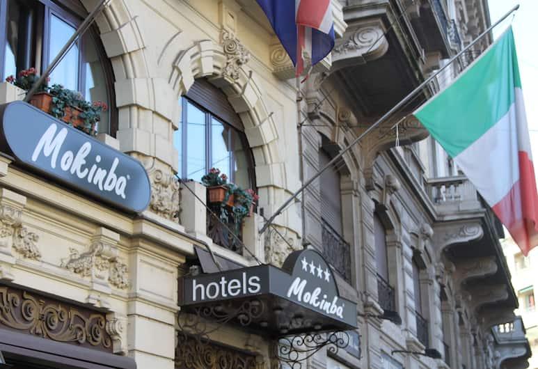 موكينبا هوتلز كينج, ميلانو, واجهة الفندق