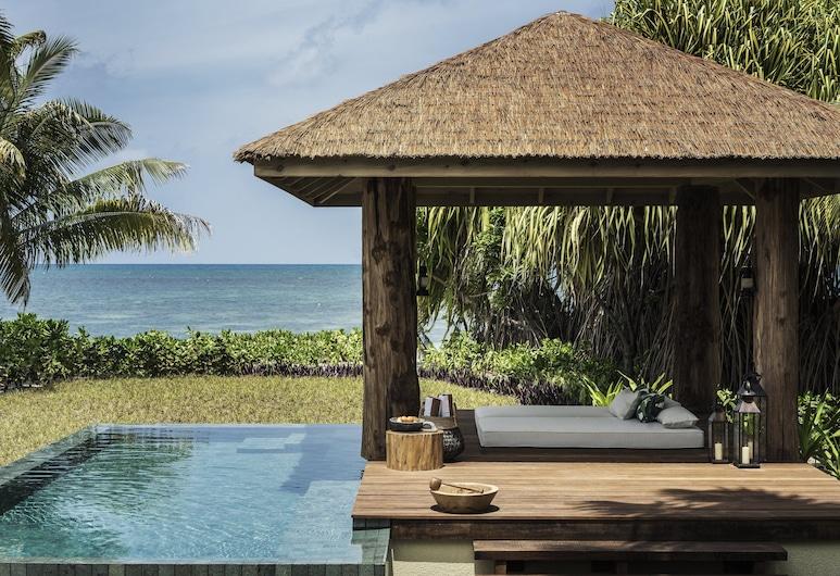 Four Seasons Resort Seychelles at Desroches Island, Desroches Island, Villa, 1 kingsize-seng, ikke-røyk (Sunset Beach), Utsikt mot strand/hav