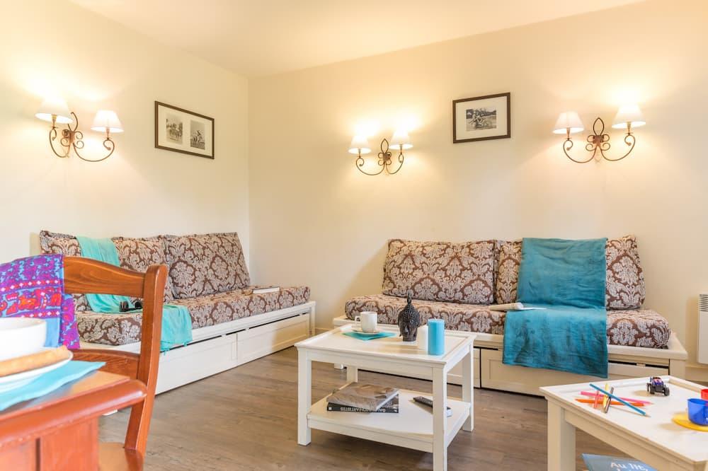 viena guļamistabas dzīvokļnumurs - Dzīvojamā istaba