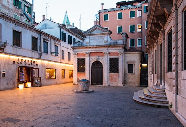 호텔 산 갈로, 베네치아, 호텔 정면 - 저녁/밤