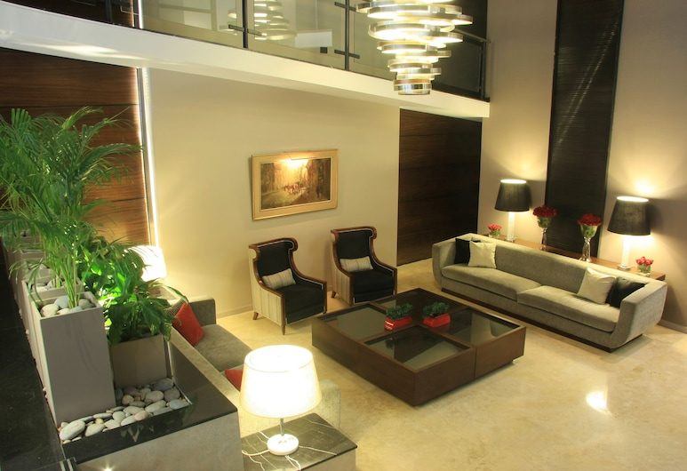 Grand King Hotel, Buenos Aires, Sitzecke in der Lobby