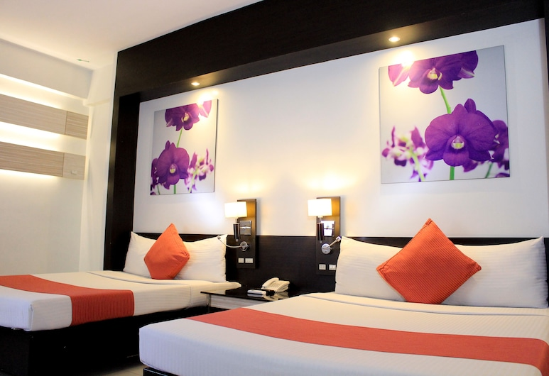 이그제큐티브 호텔, 마닐라, 베이직 트윈룸, 객실