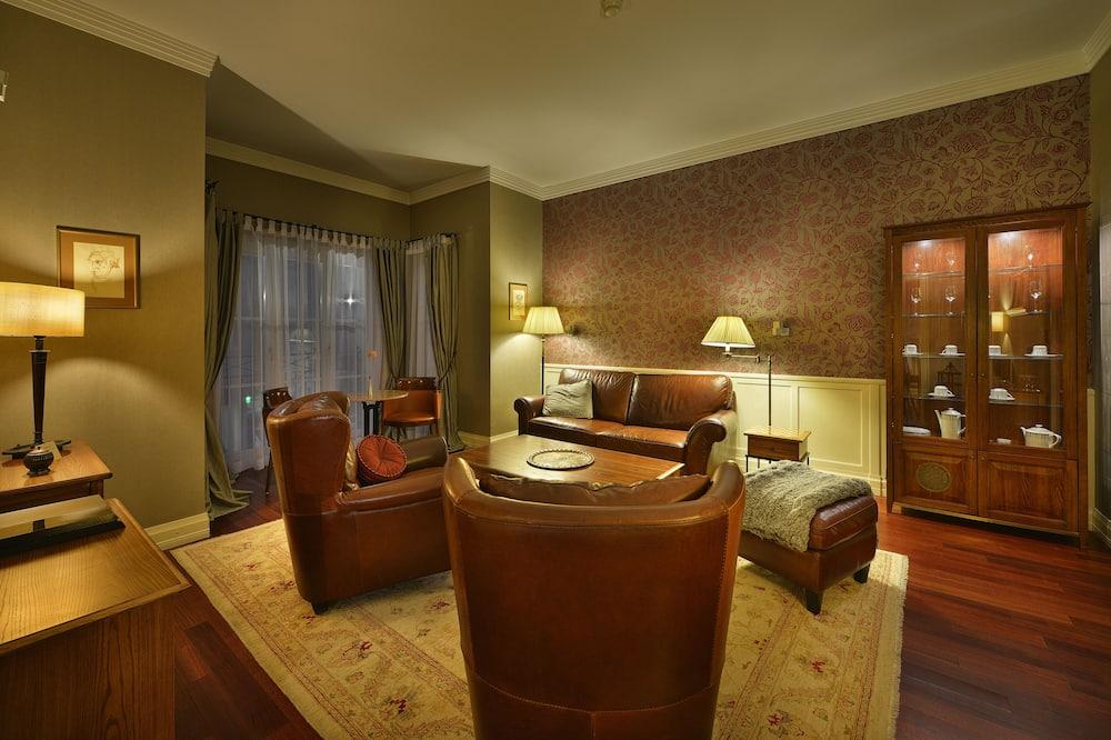 Suite de lujo (incl. minibar) - Zona de estar