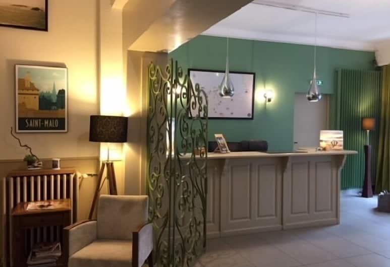Hôtel Ajoncs d'Or, Saint-Malo, Reception