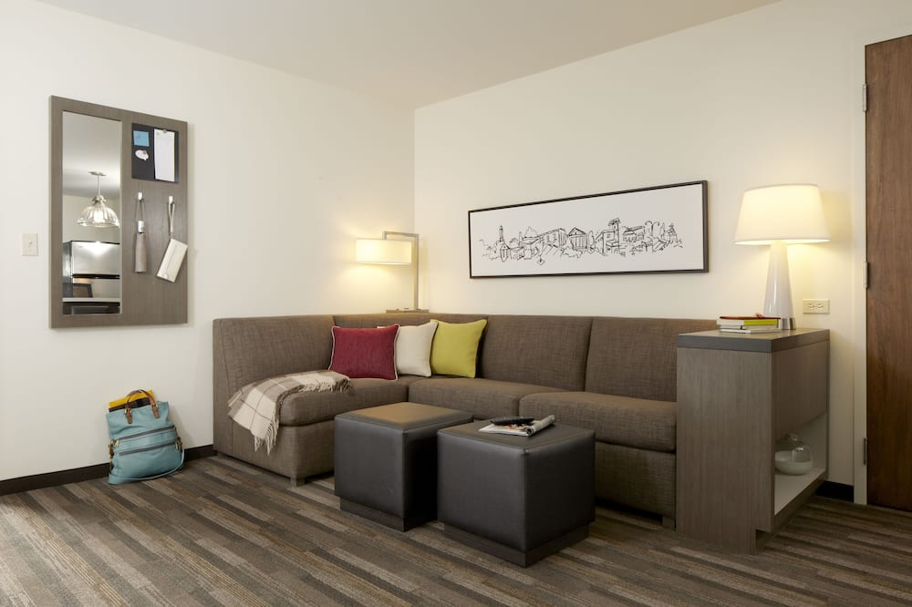 Studio Suite, 1 King Bed with Sofa bed - Living Room