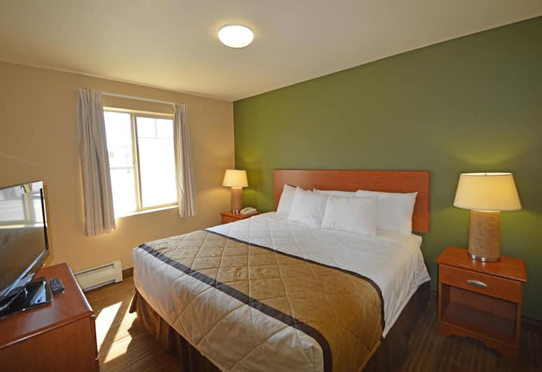 Extended Stay America - Anchorage - Midtown, Anchorage, Suite, 1 King Bed with Sofa bed, Non Smoking, Guest Room