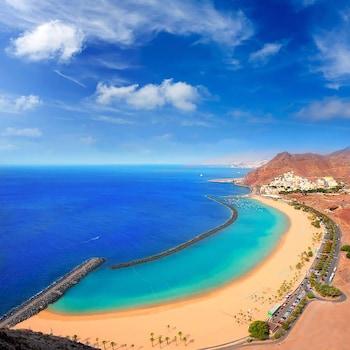 Introduce las fechas para ver los descuentos de hoteles en Santa Cruz de Tenerife