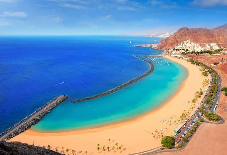 Hotel Adonis Plaza, Santa Cruz de Tenerife, Strand
