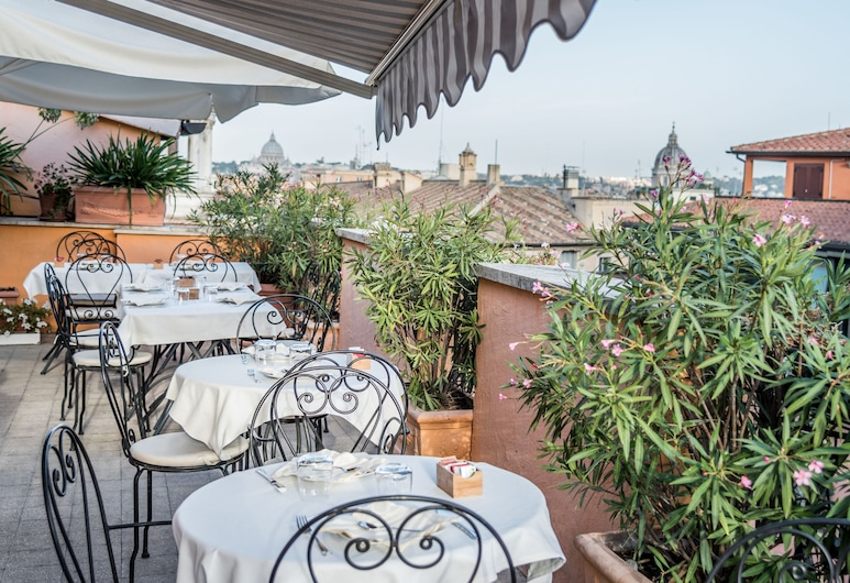 Hotel Concordia, Roma, Terasa / vidinis kiemas