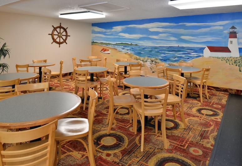 キャプテンズ クオーターズ モーテル & カンファレンス センター, イーストハム, 朝食スペース