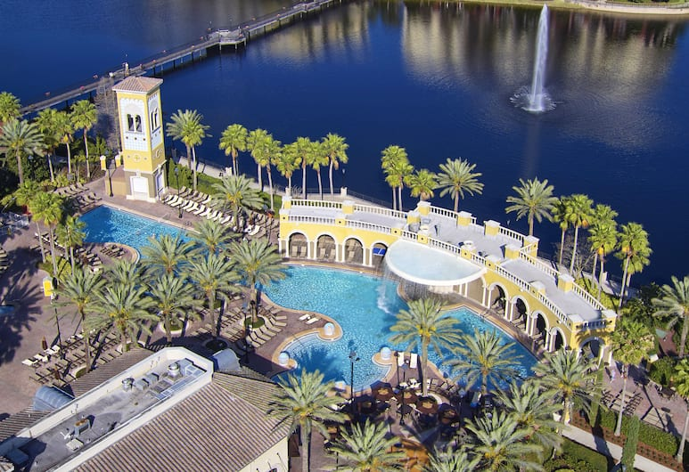 Hilton Grand Vacations at Tuscany Village, Orlando, Vue aérienne