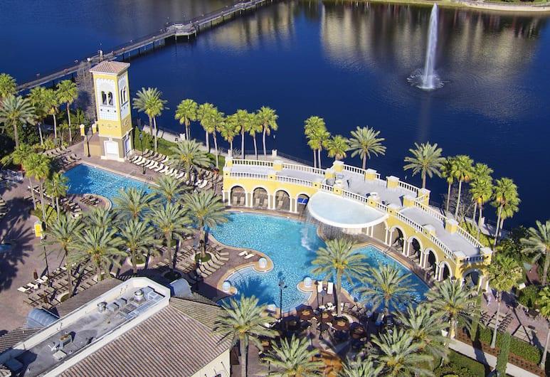 Hilton Grand Vacations at Tuscany Village, Orlando, Utsikt från luften