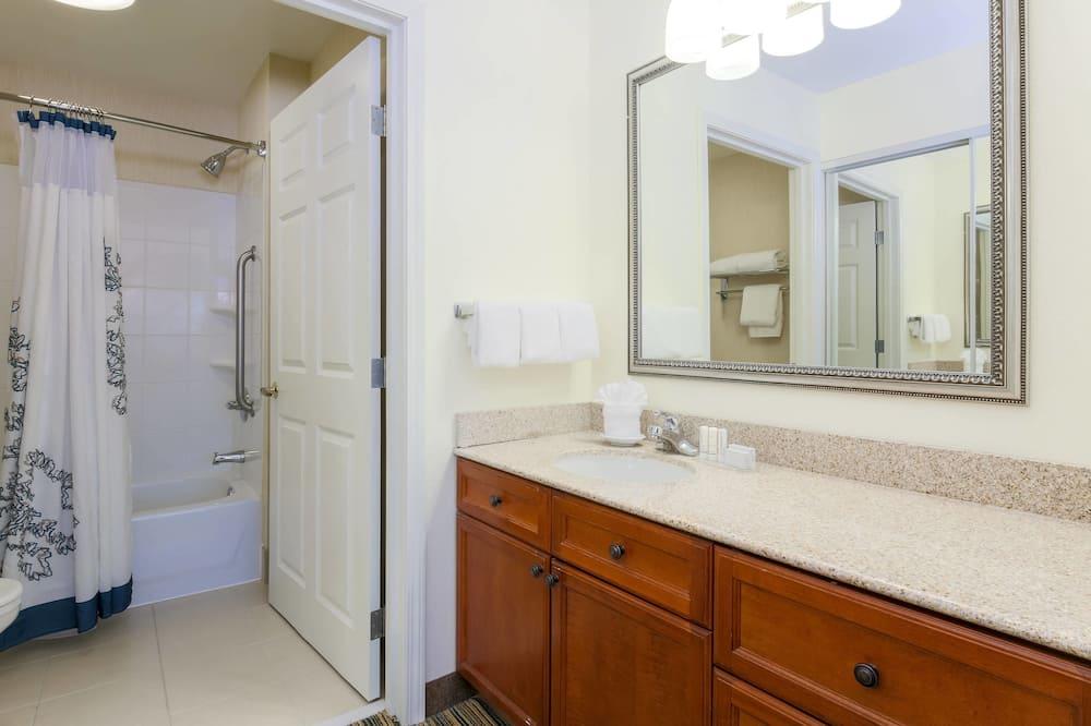 Süit, 2 Yatak Odası, Sigara İçilmez, Şömine - Banyo