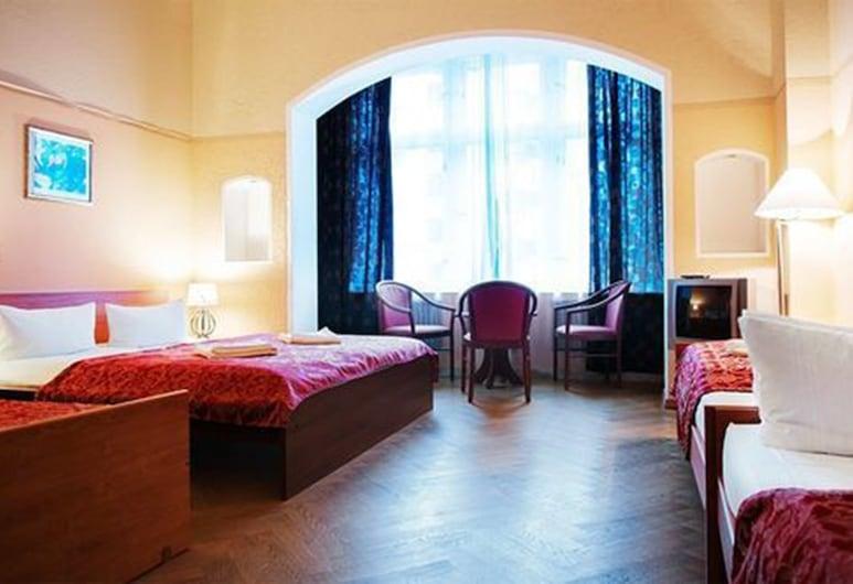 Cityblick, Berlin, Vierbettzimmer, Zimmer