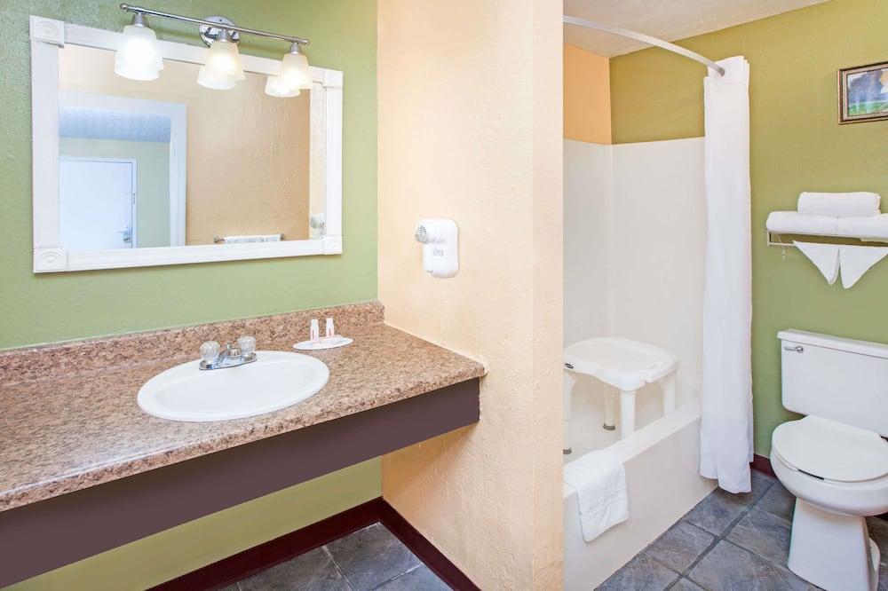 Oda, 2 Çift Kişilik Yatak, Engellilere Uygun - Banyo