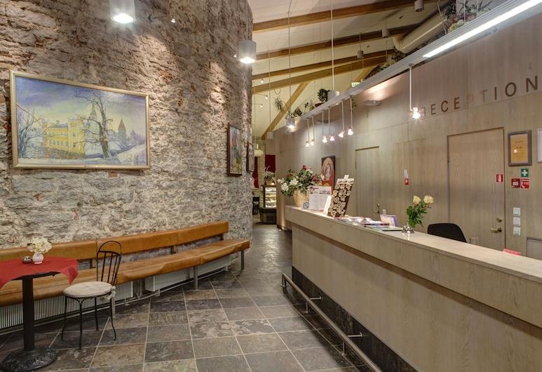 Rija Old Town Hotel, Tallinn, Reception