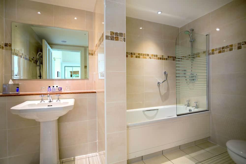 標準客房, 1 張標準雙人床, 無障礙 - 浴室