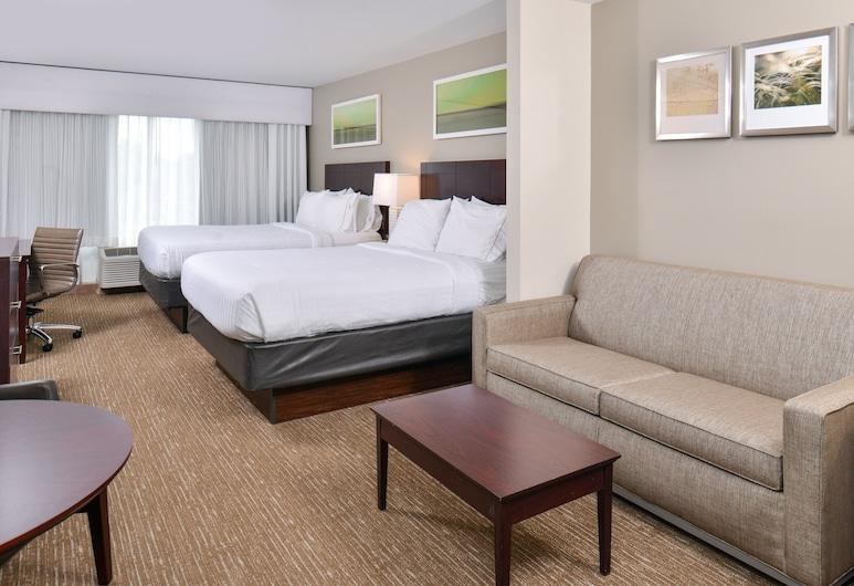 Holiday Inn Express Hotel & Suites Lafayette, Lafayette, Suite, 2Queen-Betten, Nichtraucher, Zimmer