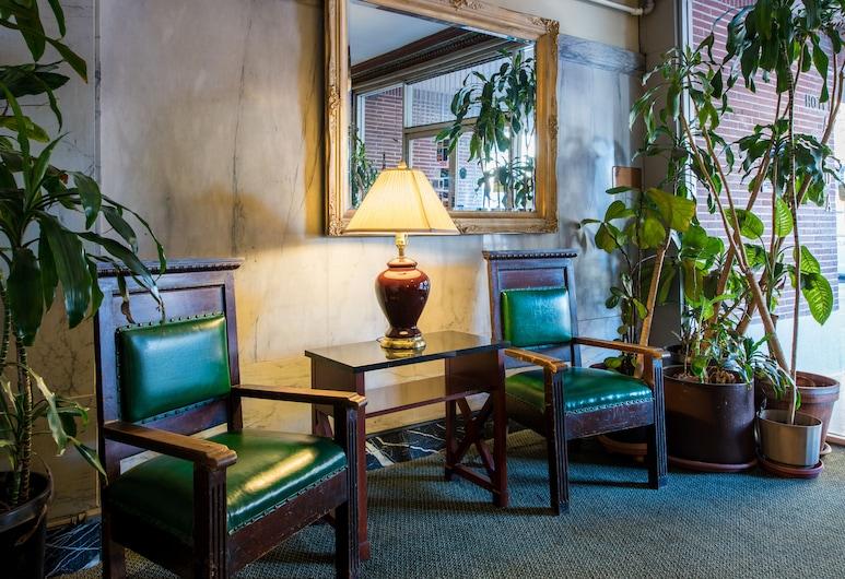 아이다 플라자 호텔, 샌프란시스코, 로비 좌석 공간