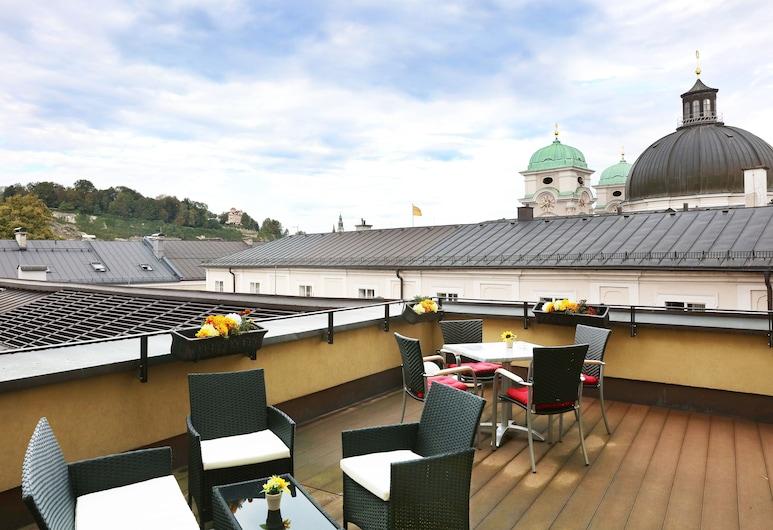 โรงแรมสตาร์ อินน์ พรีเมียม ซาลซ์บูร์ก กาเบลอร์บรอย, ซาล์ซบูร์ก, ลานระเบียง/นอกชาน