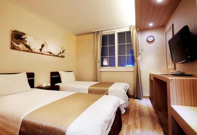 乙支路高爺商業公寓, 首爾, 開放式客房, 2 張單人床, 客房