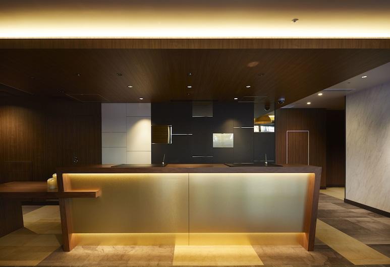 The B 六本木酒店, 東京, 櫃台