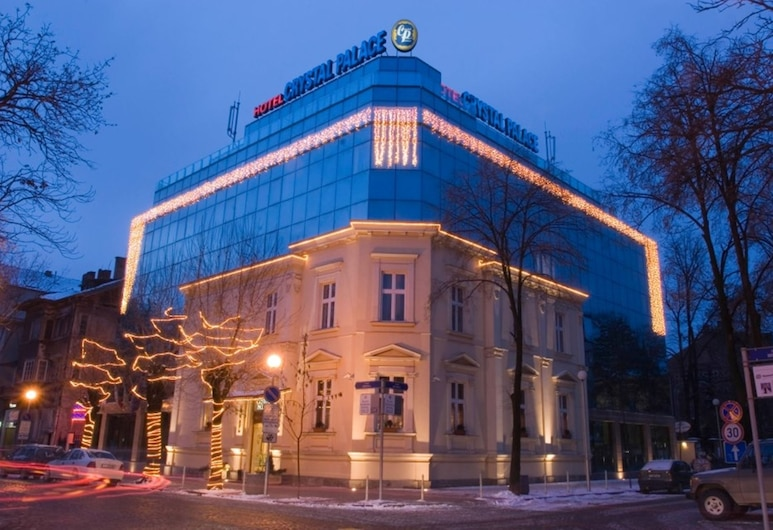 Crystal Palace Boutique Hotel, Sofia, Hotel Front – Evening/Night