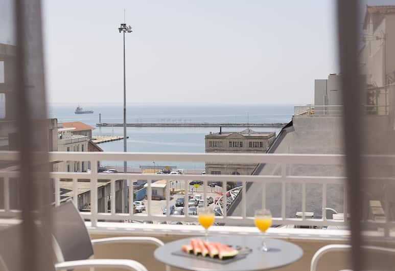 Plaza Hotel, Thessaloniki, Executive Suite, Sea View, Balcony