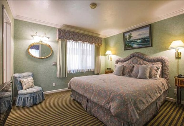 Carmel Inn And Suites, כרמל, סוויטה, חדר אורחים