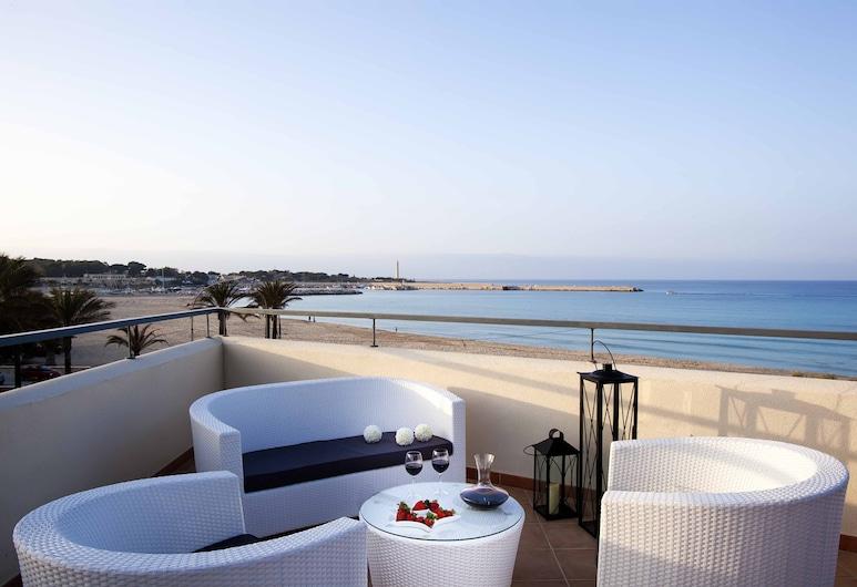 Hotel Mira Spiaggia, Сан-Вито-Ло-Капо, Терраса/ патио
