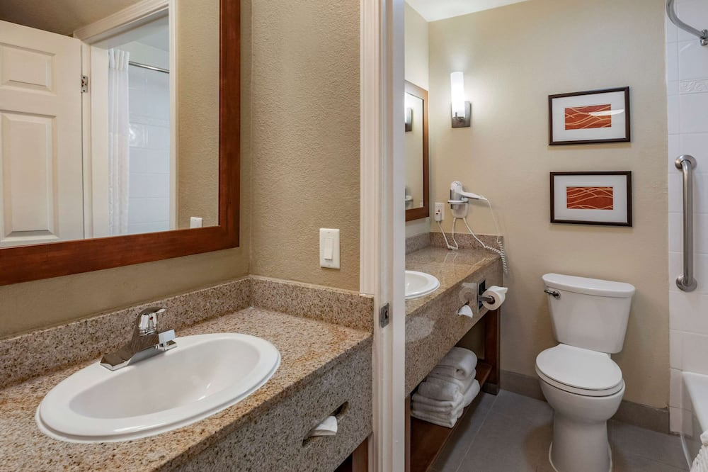 Habitación, 2 camas Queen size, con acceso para silla de ruedas, para no fumadores - Baño