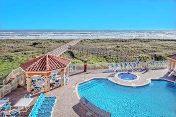 Foto La Copa Inn Beach Hotel di Padre Island Selatan