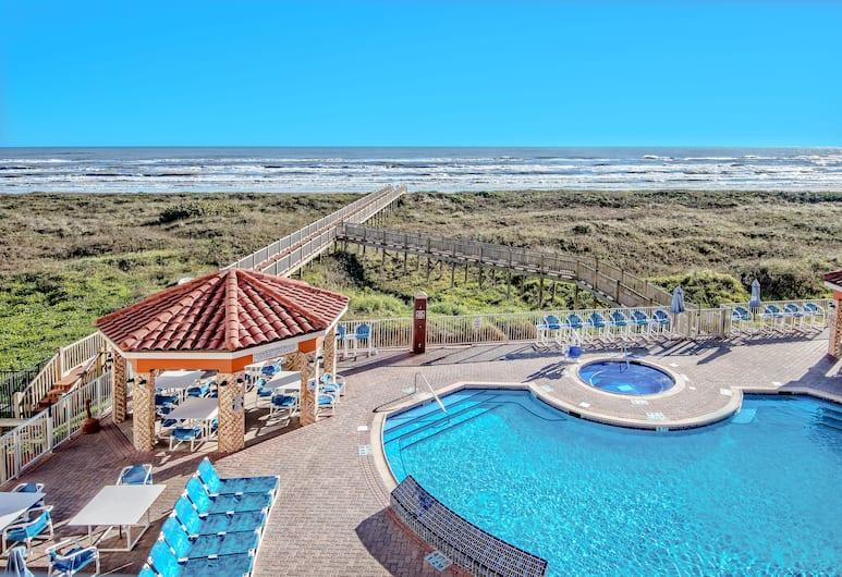 La Copa Inn Beach Hotel, South Padre Island, BBQ/Picnic Area