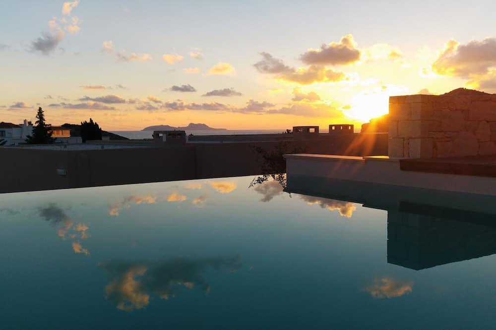 Junior-suite - privat pool - havudsigt - Værelse