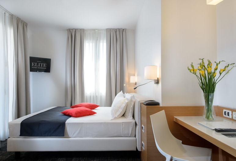 Elite Hotel Residence, Mestre, Habitación doble clásica de uso individual, Habitación