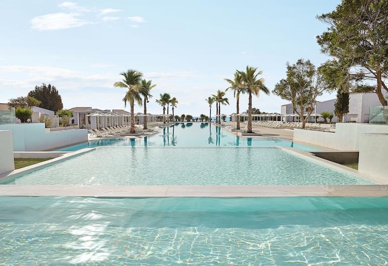 盧克斯美達瑪達瑪格雷科泰爾飯店, 羅德島, 室外游泳池