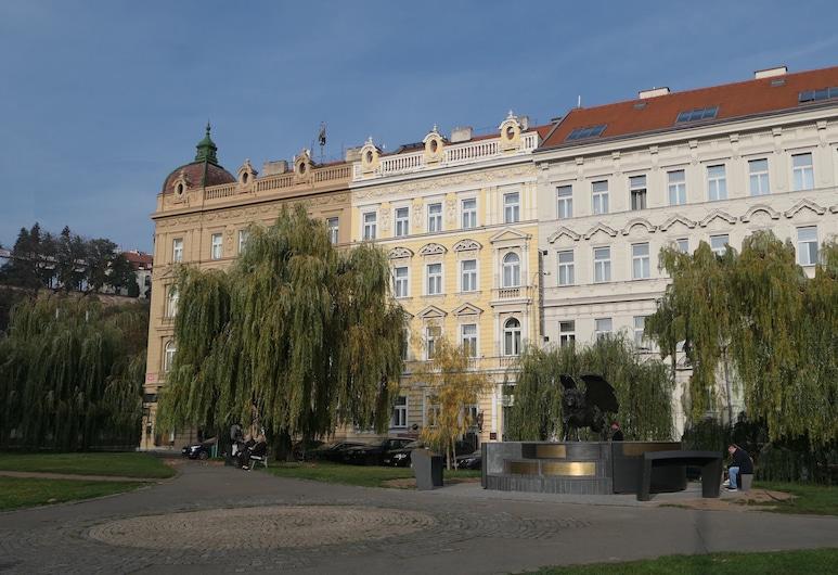 Hotel Klarinn, Praga, Fachada do hotel