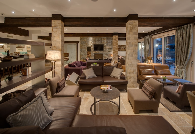 SchlossHotel Zermatt – Active & CBD Spa Hotel, Zermatt, Lobby-Lounge