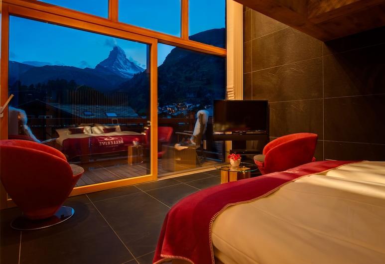 Hotel Bellerive, Zermatt, Rum (Sky, Matterhorn View), Gästrum
