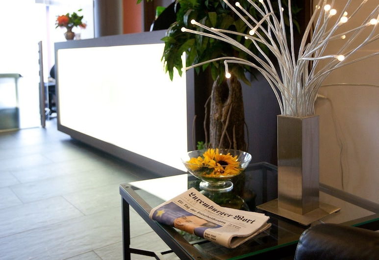 Hotel Empire, Luxembourg City, Lobby
