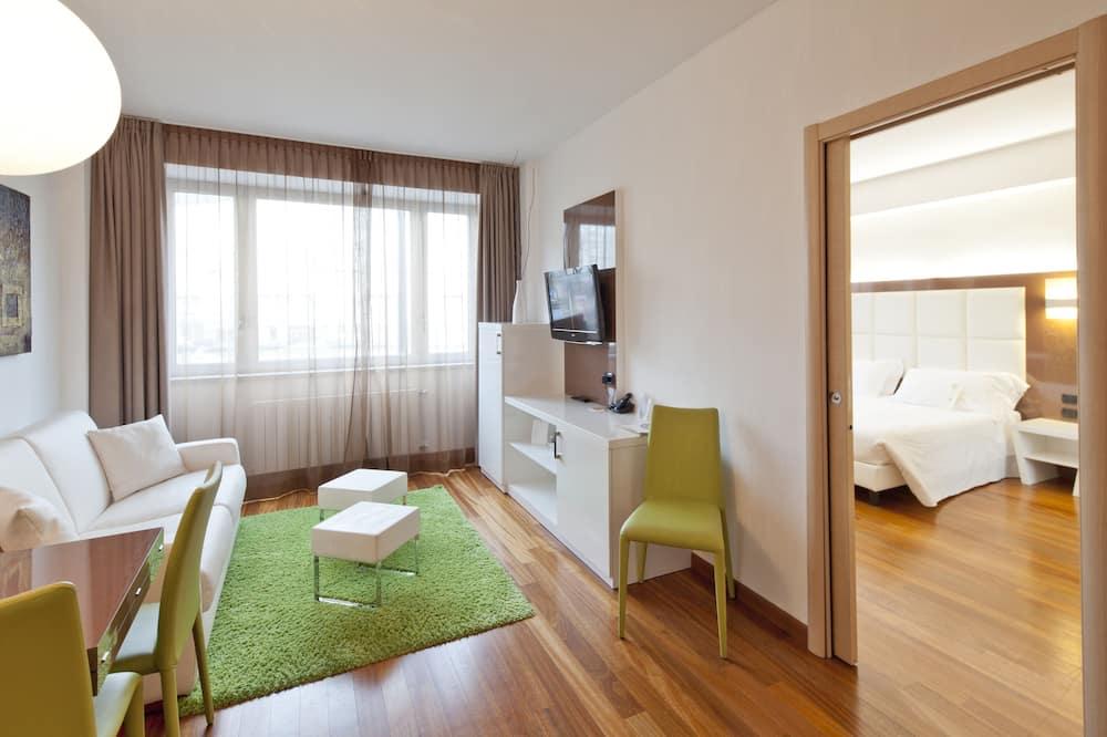 Byt (Bilocale) - Obývacie priestory